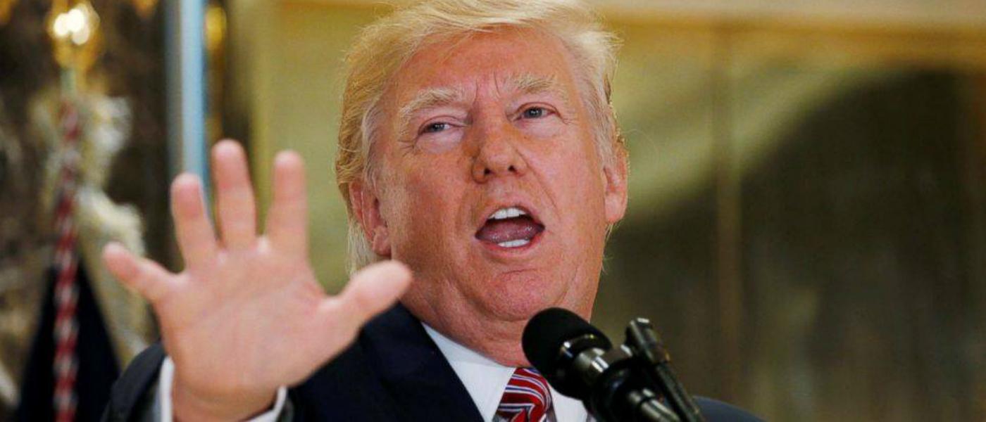 Donald Trump Alt-Left White Supremacy