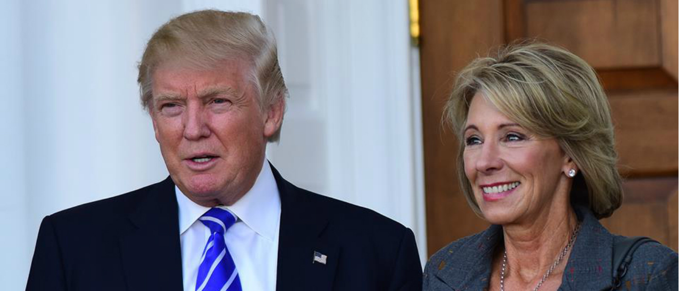 Betsy DeVos rescinds sexual assault campus guidelines
