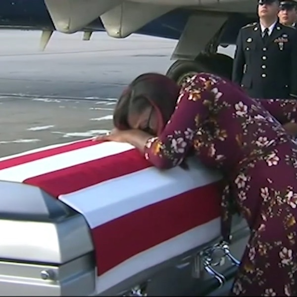 Sergeant La David Johnson Widow